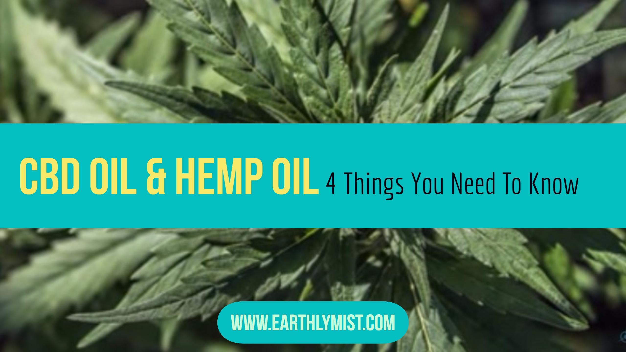 Hemp Oil vs CBD Cannabis: OIl Benefits and Uses
